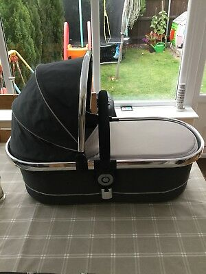 I-candy Peach Carrycot - Truffle
