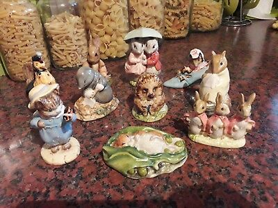 vintage beswick beatrix potter 10 figures bp-3c