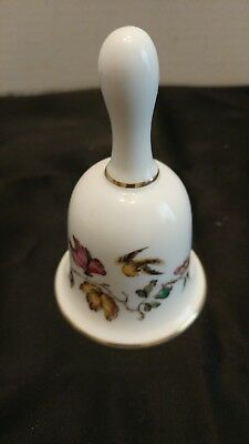 Vintage Wedgewood Swallow Bell Fine Bone China England, Clapper Height 5 inches.