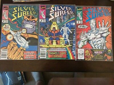 Silver Surfer (1987) # 34, 35, 36, 38, 43, 44, 45 & 46 Thanos !!
