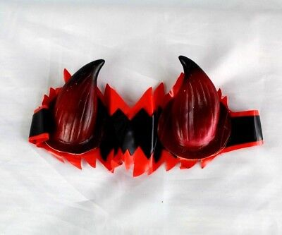 Devil Demon Horns Red Elastic Stretch Headband Costume Accessory One Size NWT