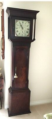 JONAS BARBER WINSTER No 1438 DATED  Dec 1800 MAHOGANY CASE