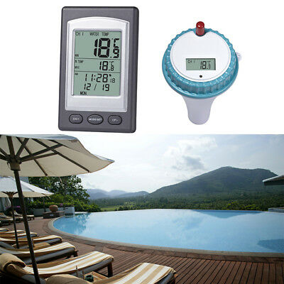 Wireless Digital Swimming Pool Thermometer SPA Bathtub Floating Thermometer Tool