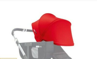 Genuine Brand New bugaboo donkey extantdable red sun conepy / hood fabric @