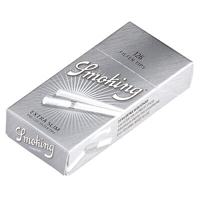 120x Filtros Precortados para Tabaco de liar Smoking Ultra Slim (14x5,5mm)
