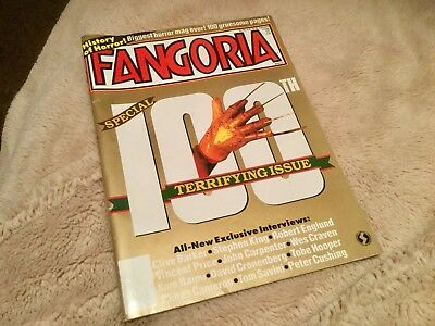Fangoria 100th issue - Special 100-page issue from 1991 VGC RARE