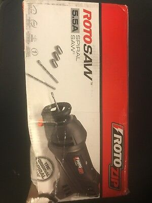 RotoZip 5.5 Amp RotoSaw Spiral Saw Kit SS355-10 Reconditioned