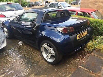 Smartcar Roadster (452) 2005.Genuine 49,600 miles,