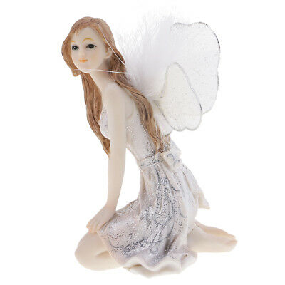 Mode Schaufenster Dekoration Harz Fliegen Engel Fairy Doll Posture