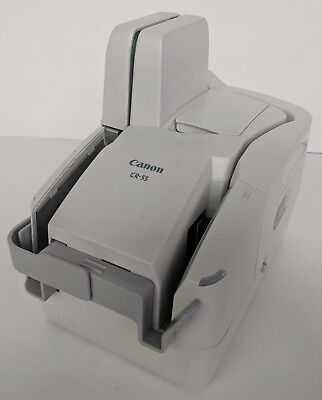 Canon Image Formula CR-55 Check Transport Teller Check Scanner M11056 Tested