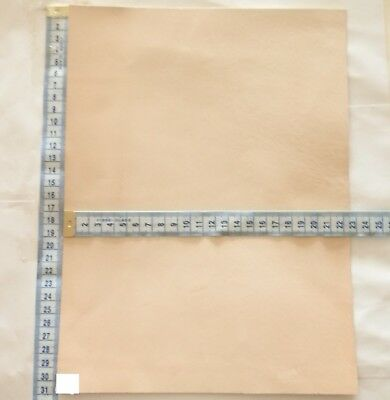 Natural Craft Leather Offcuts 1Mm Thick  Veg Tan Leather Small Pieces