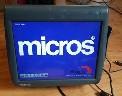 Micros Workstation 5A POS Touchscreen Systems 400814-101Terminal Needs CF