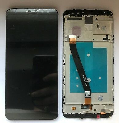 VETRO DISPLAY LCD TOUCH SCREEN + FRAME PER Huawei Mate 10 Lite NERO RNE L21 L01