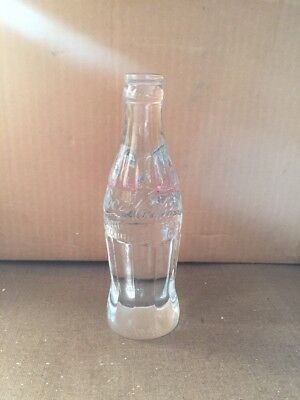 Coca Cola 1996 Atlanta Summer Olympic Crystal Bottle #1070 of 1996