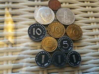 Reichmark Coin Lot