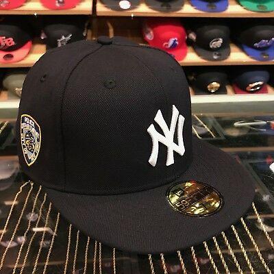 ... wholesale new era new york yankees fitted hat all navy white nypd side  e2c77 1e1e3 ... e10ee73c9912