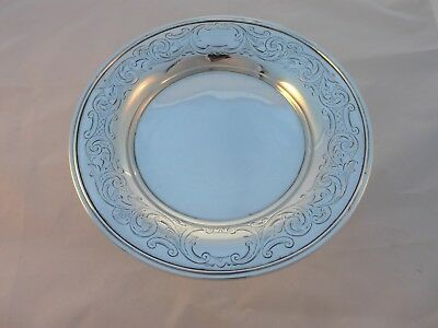 Solid silver vintage Victorian Dish, London 1880, 176 g