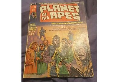Planet of the Apes Mag # 1 VG condition