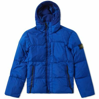 Stone Island Garment Dyed Crinkle Reps NY Down Jacket In Bluette BNWT