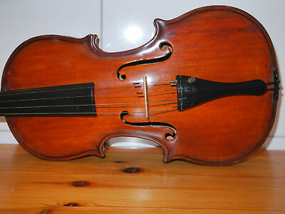 """J. B. Herclík"" Alte Geige in gutem Zustand, old violin, mint condition"