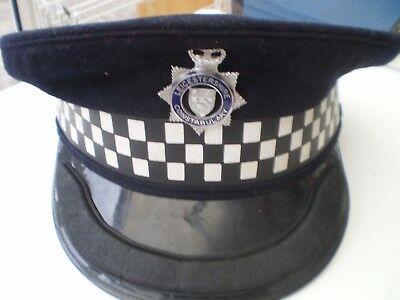 Leicesteshire Constabulary Inspectors Police Cap and Badge