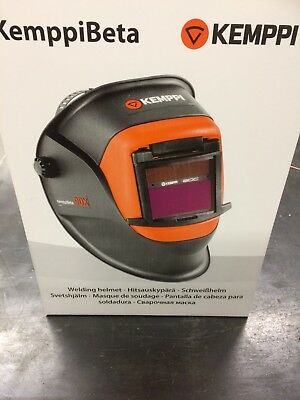 Kemppi Beta 90 X Welding Helmet With Adf Included ,new In Box .