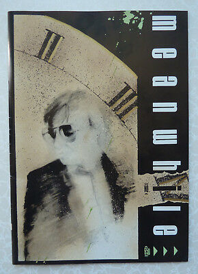 Meanwhile... Mandarin Graphics Comic Issue No 4 1984 Dave McKean - Rare