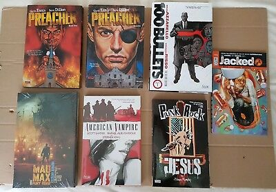 Dc / Vertigo Hardcover Lot - 7 Books