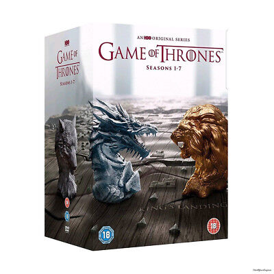 Game Of Thrones The Complete Season 1-7 DVD Boxset 1 2 3 4 5 6 7 Sealed