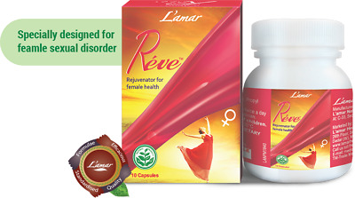 Reve Capsules Specially Designed for Female Sexual Disorder - 30 Capsules