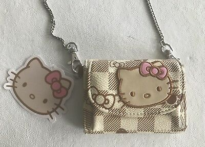 Hello Kitty wallet w/shoulder or crossbody chain NEW