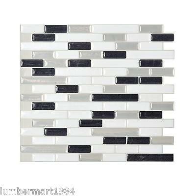 Smart Tiles SM1057-6 SELF-ADHESIVE WALL TILES 6/SHEETS MURANO ALASKA MURETTO