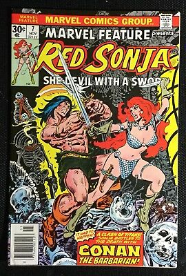 Marvel Feature #7 Red Sonja Conan
