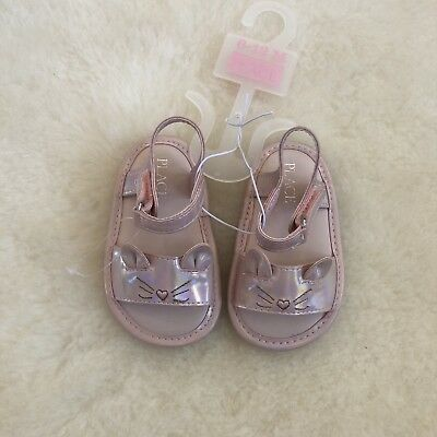 59771b595c216 THE CHILDREN'S PLACE Toddler Girls Sandals Size 6-12M. New On Hanger ...