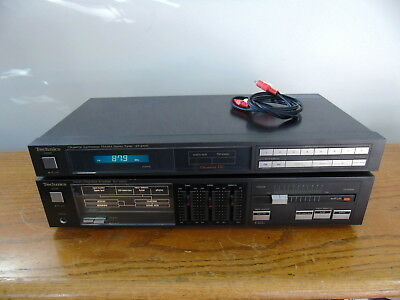 TECHNICS SU-Z600 STEREO AMPLIFIER and ST-Z400 AM FM TUNER *