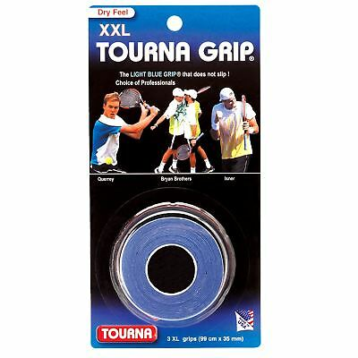 Tourna Grip Overgrip XXL Original -Blue - 3 pack