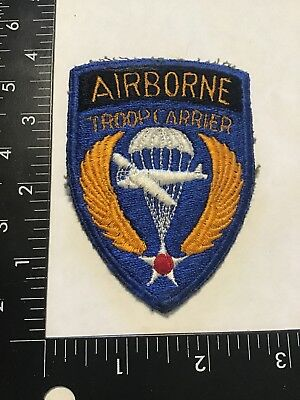 WW2 US Army Air Force Airborne Troop Carrier Patch Look Rare