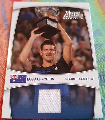 Novak DJOKOVIC Ace Authentic 2008 Australian Champion Jersey card GS2 #23/59