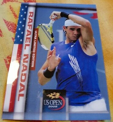 Rafael NADAL Maria SHARAPOVA Dual card Ultra Limited Edition