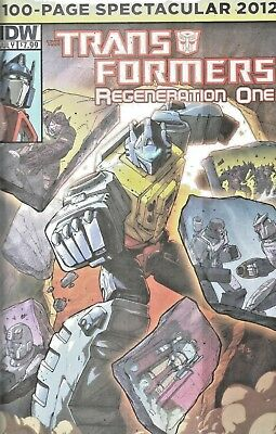 Transformers : Regeneration One  100-Page Spectacular  $7.99 Idw  2012  Nice!!!
