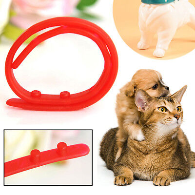 Dog Cat Pet Flea Against Tick Anti Protecter Collar Repel Rubber Necklace Safety