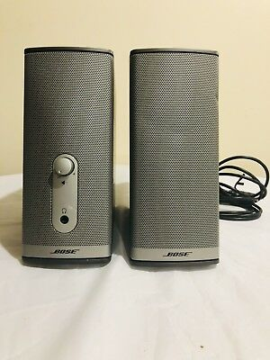 Bose Companion 2 Series Ii Computer Multimedia Speakers System