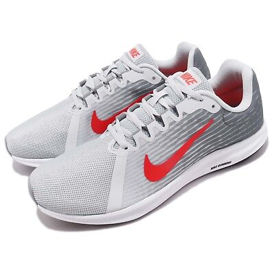 newest a86b9 c6ff9 Nike Downshifter 8 VIII Pure Platinum Red Men Running Shoes Sneakers 908984 -012