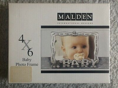 Baby Photo Frame - 4 X 6 Brand New