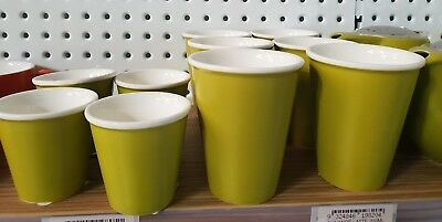 BULK LOT Bevande Tea / Coffee Cups / saucers BAMBOO colour | Free shipping