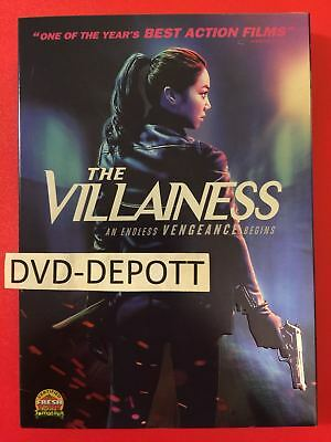 The Villainess DVD & Slipcover AUTHENTIC READ Brand New FAST Free Shipping