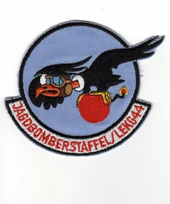 ORIGINAL German Air Force patch Fighter-Bomber Squadron LeKG 44 Fiat G.91 ~1970s