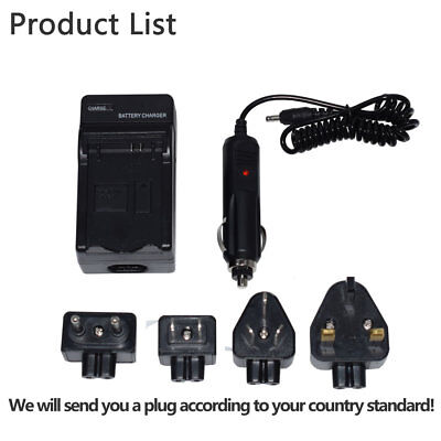 Car&Home Battery charger for Canon LP-E5 EOS 450D 500D 1000D KISS F X  X3 new