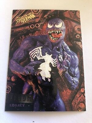 1995 Fleer Ultra Spider-Man Marvel Card #83 Venom