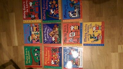 Maisy Mouse 10 books Collection: Maisy Goes Camping / Maisy Goes To Nursery